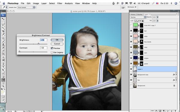 Как из цветной картинки в фотошопе сделать раскраску