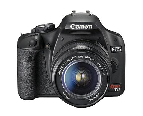 Canon EOS 500D - новая цифровая зеркальная камера Canon.