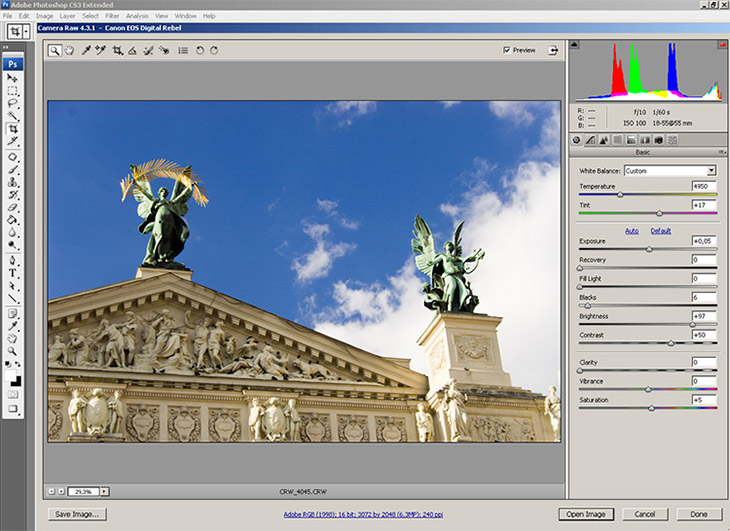adobe camera raw видео уроки